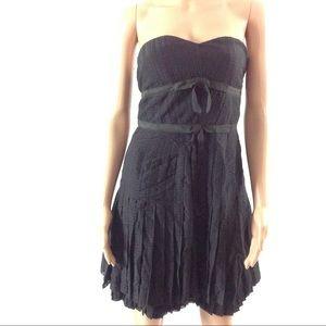 $398 Marc by Marc Jacobs Dress 0 Black Silk New
